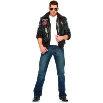 Top Gun Men's Bomber Jacket Set Adult Costume
