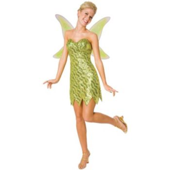 Sequin Deluxe Tinkerbell Adult Costume