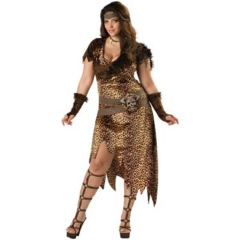 Barbarian Woman Plus Adult Costume