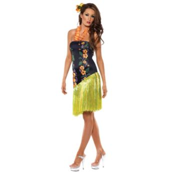 Fever Luscious Luau Adult Costume