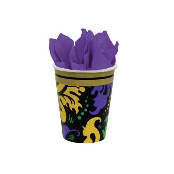 MARDI GRAS MAGIC 9 oz. CUPS