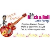 Rock'N'Roll Custom Banner
