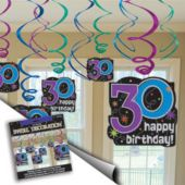 30th Birthday Swirls Value Pack
