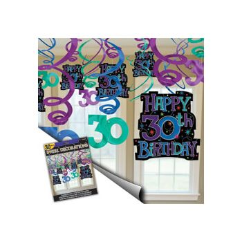 30TH BIRTHDAY SWIRL MEGA PACK