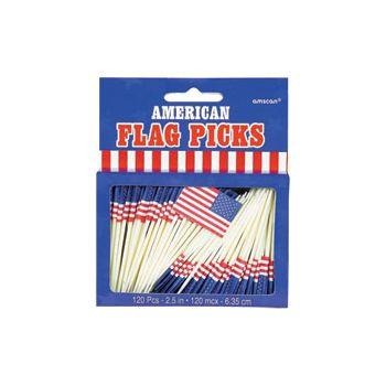 PATRIOTIC FLAG PICKS