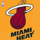 Miami Heat Lunch Napkins - 16 Pack