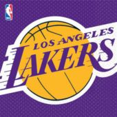 Los Angeles Lakers Lunch Napkins - 16 Pack