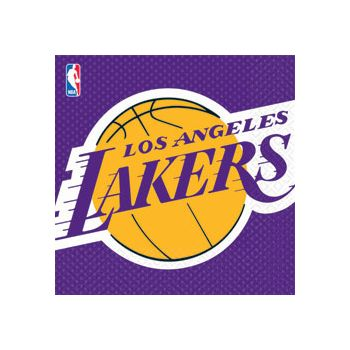 LOS ANGELES LAKERS LUNCH NAPKINS