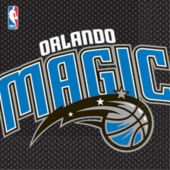 Orlando Magic Lunch Napkins - 16 Pack