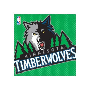MINNESOTA TIMBERWOLVES LUNCH NAPKINS