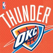 Oklahoma thunder Lunch Napkins - 16 Pack