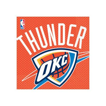 OKLAHOMA THUNDER LUNCH NAPKINS