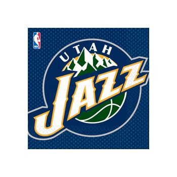 UTAH JAZZ LUNCH NAPKINS