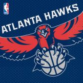 Atlanta Hawks Lunch Napkins - 16 Pack