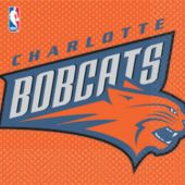 Charlotte Bobcats Lunch Napkins - 16 Pack