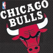 Chicago Bulls Lunch Napkins - 16 Pack