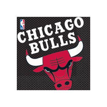 CHICAGO BULLS LUNCH NAPKINS
