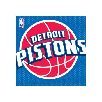 DETROIT PISTONS LUNCH NAPKINS
