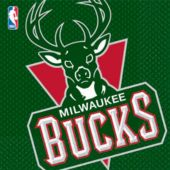 Milwaukee Bucks Lunch Napkins - 16 Pack