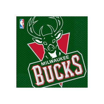 MILWAUKEE BUCKS LUNCH NAPKINS