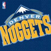 Denver Nuggets Lunch Napkins - 16 Pack