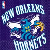 New Orleans Hornets Lunch Napkins - 16 Pack