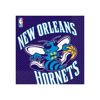 NEW ORLEANS HORNETS LUNCH NAPKINS