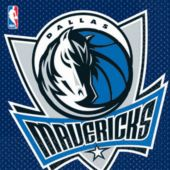 Dallas Mavericks Lunch Napkins - 16 Pack
