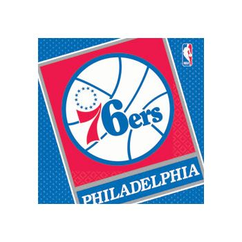 PHILADELPHIA 76ERS LUNCH NAPKINS