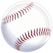 "Baseball Fan 10 1/2"" Plates - 8 Pack"