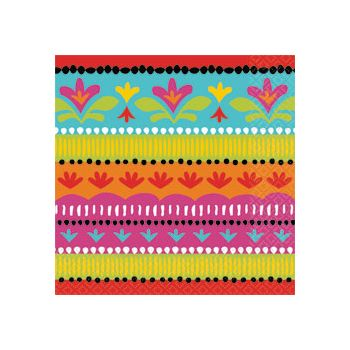 FIESTA BRIGHTS LUNCH NAPKINS