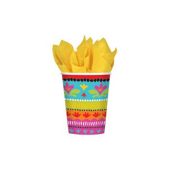 FIESTA BRIGHTS 9 oz. CUPS