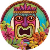 "Tropical Tiki 7"" Plates"