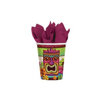 Tropical Tiki 9 oz. Cups  50 per pack