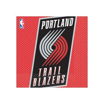PORTLAND TRAILBLAZERS LUNCH NAPKINS