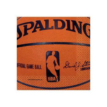 SPALDING BALL BEVERAGE NAPKINS