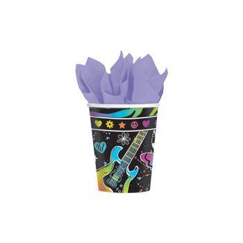 NEON RETRO 9 oz. CUPS