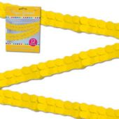 Yellow Paper Garland-12""