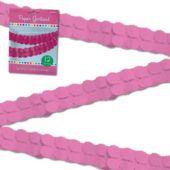Pink Paper 12' Garland