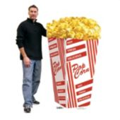 Popcorn Bag Stand Up