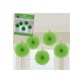 GREEN MINI HANGING FANS