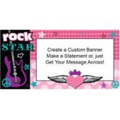 Rocker Girl Custom Banner