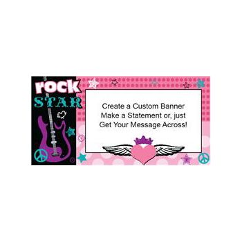 Rocker Girl Custom Banner