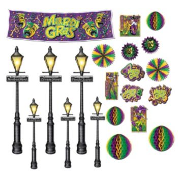 MARDI GRAS DECORATION PROPS