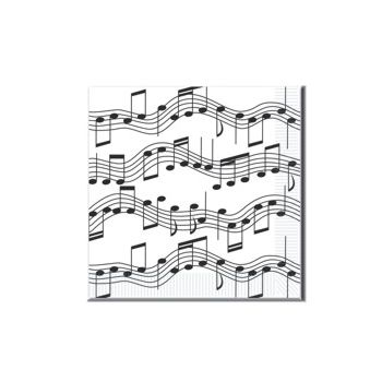 Musical Notes Lunch Napkins