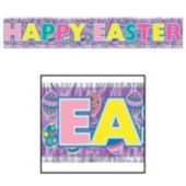 Happy Easter Fringe Banner
