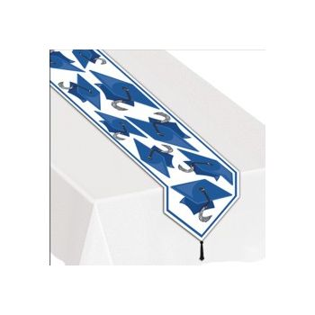 BLUE GRADUATION TABLE RUNNER
