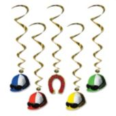 Horse Racing Derby Day Danglers-5 Pack