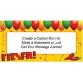 Celebrate A Fiesta Custom Banner