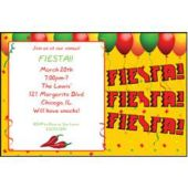 Fiesta Party Personalized Invitations